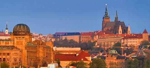 City breaks Czechy