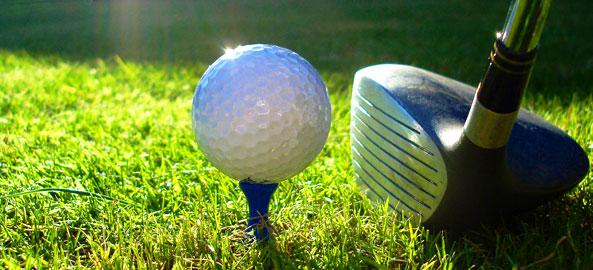 Golf - pole golfowe blisko hotelu