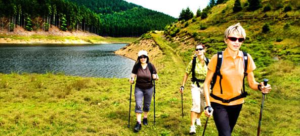 Możliwość uprawiania nordic walking Czechy